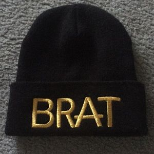 Kendall and Kylie BRAT hat